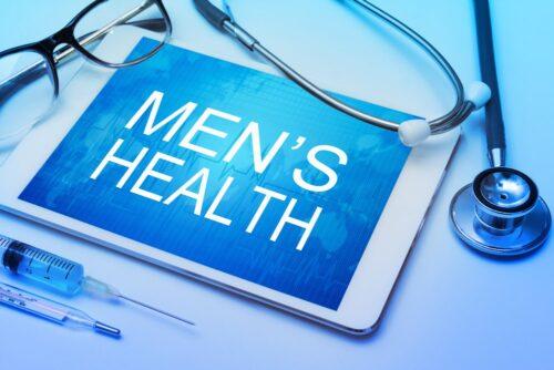 ipad showing men's health