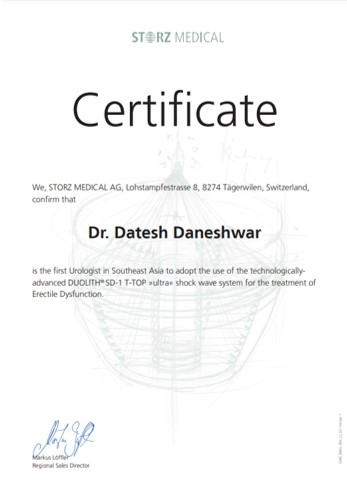 Dr. Datesh Daneshwar - urologist surgeon